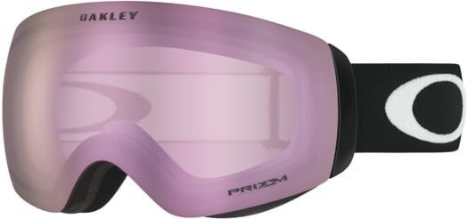 Oakley Flight Deck XM Goggles - matte black/prizm hi pink iridium lens - view large