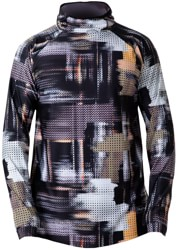 BlackStrap Summit Hooded Base Layer Top - robotic