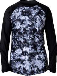 BlackStrap Skyliner Crew Base Layer Top - tie dye black
