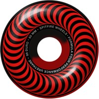 Spitfire Formula Four Classic Skateboard Wheels - red/black 50/50 swirl (99d)