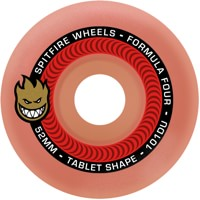 Spitfire Formula Four Tablets Skateboard Wheels - aurora red (101d)