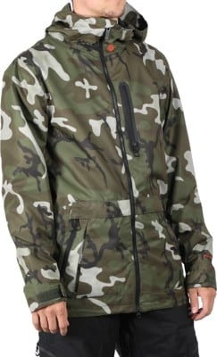 Volcom Deadly Stones Jacket - gi camo - view large
