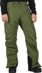686 Smarty 3-In-1 Cargo Pants - surplus green