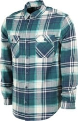 Burton Brighton Flannel Shirt - dress blue stump plaid
