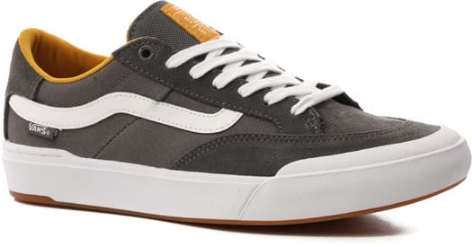 Vans Berle Pro Skate Shoes - pewter/mango mojito - view large