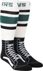 Vans Acrylic Snow Socks - vans trekking green/black