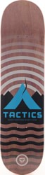 Tactics Base Camp Skateboard Deck - faded purple