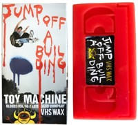 Toy Machine VHS Wax - jump off a building/red