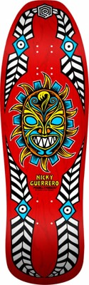 Powell Peralta Nicky Guerrero Mask 10.0 Skateboard Deck - view large
