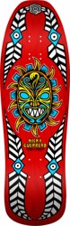 Powell Peralta Nicky Guerrero Mask 10.0 Skateboard Deck - red