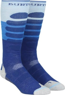 Burton Performance Plus Midweight Snowboard Socks - classic blue - view large