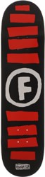 Foundation Doodle Stripe 8.0 Skateboard Deck - black