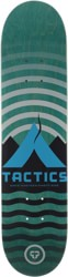 Tactics Base Camp Skateboard Deck - teal (blemished)