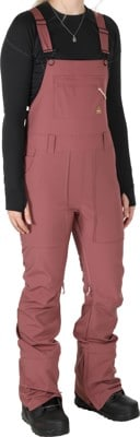 Burton Avalon Bib Softshell Pants - rose brown - view large