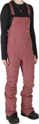 Burton Avalon Bib Softshell Pants - rose brown
