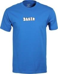 Baker Brand Logo T-Shirt - royal blue
