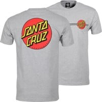 Santa Cruz Classic Dot T-Shirt - athletic heather