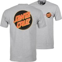 Santa Cruz Other Dot T-Shirt - athletic heather/black