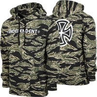 Independent Bar/Cross Hoodie - tiger camo