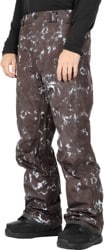 Volcom L Gore-Tex Pants (Closeout) - black print