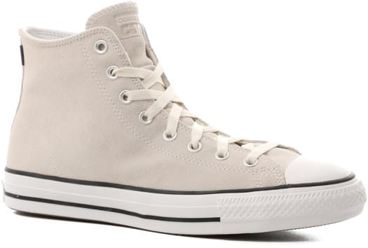 Converse Chuck Taylor All Star Pro High Skate Shoes - vintage white/white/black - view large