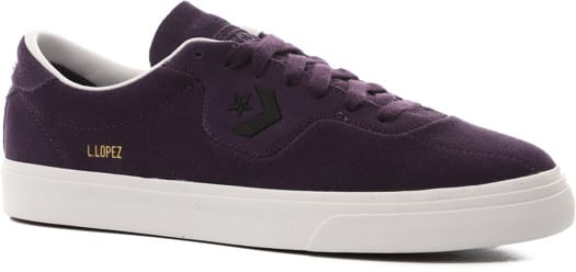 Converse Louie Lopez Pro Skate Shoes - grand purple/black/white - view large