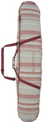 Burton Space Sack Snowboard Bag - aqua gray revel stripe print