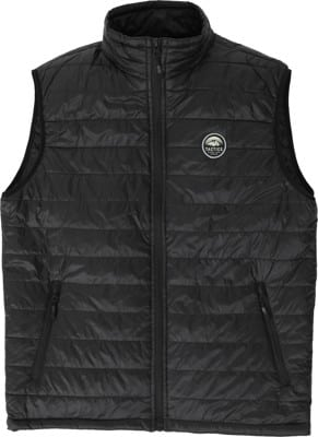 Tactics Bachelor Packable Puffer Vest - black - view large