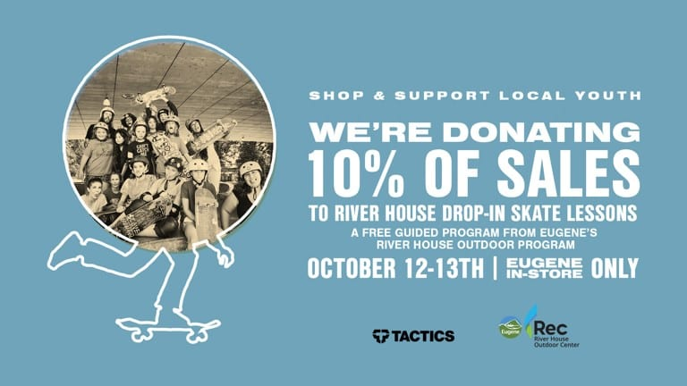 River House Skateboard Program October Fundraiser | Eugene, OR