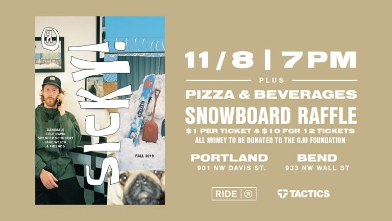 RIDE Sicky Premiere | Nov. 8