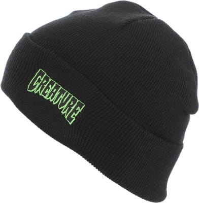 Creature Logo Outline Beanie - black - view large