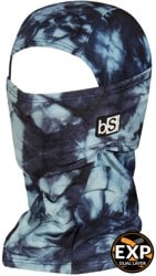 BlackStrap The Expedition Hood - tactics limited print (tie dye blue)