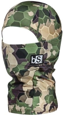 BlackStrap The Kids Hood Balaclava - tactics limited print (hex forest camo) - view large