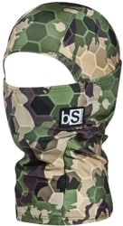 BlackStrap The Kids Hood Balaclava - tactics limited print (hex forest camo)