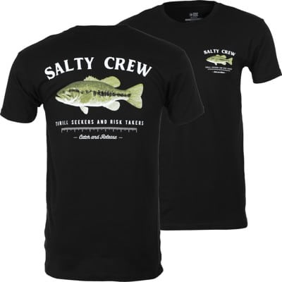 Salty Crew Bigmouth T-Shirt - black - view large