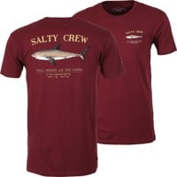 Salty Crew Bruce T-Shirt - burgundy
