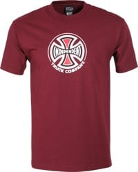 Independent Truck Co. T-Shirt - burgundy
