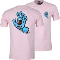 Santa Cruz Screaming Hand T-Shirt - pink