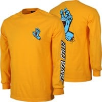 Santa Cruz Screaming Hand L/S T-Shirt - gold