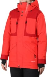 Airblaster Lady Storm Cloak Insulated Jacket - partytime red