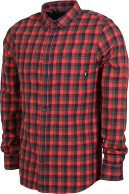 Vans Alameda II Flannel Shirt - hibiscus/grape leaf - view large