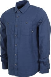 Vans Banfield III Flannel Shirt - dress blues