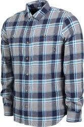 Vans Banfield III Flannel Shirt - frost grey
