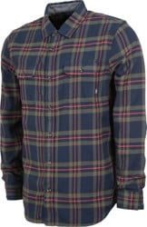 Vans Westminster Flannel Shirt - dress blues