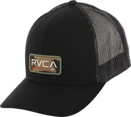 RVCA Ticket III Trucker Hat - black camo - view large