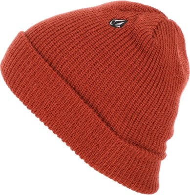 Volcom Full Stone Beanie - orange red - view large