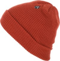 Volcom Full Stone Beanie - orange red