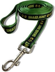 Shake Junt Murdy Dog Leash - black/green