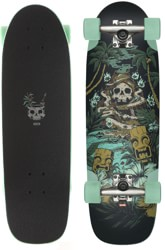 Globe Outsider 8.25 Complete Skateboard - fire island by night