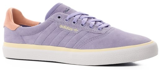 Adidas 3MC Skate Shoes - (nora vasconcellos) light purple/glow pink/mist sun - view large